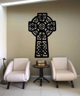 Stickerbrand Vinyl Wall Decal Sticker Celtic Cross OS_MB622m   Wall Decor Stickers
