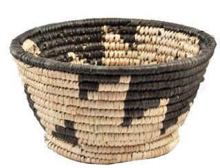 Hand Woven African Basket, 6.5 Inches, #110, Straw Basket, Decor for the Home, Fruit Basket  Home Storage Baskets