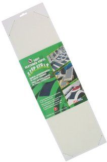 Incom RE6510WH 6 Inch by 21 Inch Soft Textured Vinyl Non Skid Traction Tape Strip, White