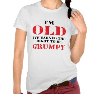Funny Senior Citizen Gift Shirt