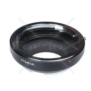 Fotodiox 07LAp645nkp Pro Lens Mount Adapter, Pentax 645 Lens to Nikon Camera Mount Adapter for Nikon  Camera & Photo