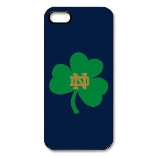 NCAA Series Notre Dame Fighting Irish Printed Proctive Custom Case Cover for Iphone 5 / Iphone 5s   1311319 Cell Phones & Accessories