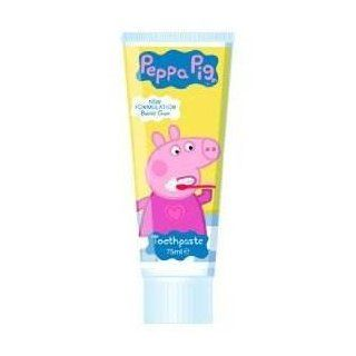 Peppa Pig Toothpaste Bubble Gum Flavour 75Ml  Pack Of 2 Health & Personal Care
