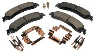 ACDelco 171 659 Rear Brake Disc Pad Kit Automotive