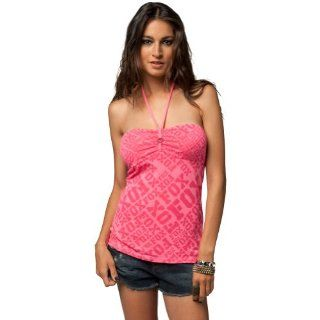 Fox Racing Edge Girls Tube Fashion Shirt/Top   Day Glo Pink / Small Automotive