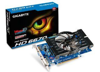 GIGABYTE ATI Radeon HD6670 1 GB DDR3 VGA/DVI/HDMI PCI Express Video Card GV R667OC 1GI Electronics