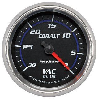 Auto Meter 7984 Cobalt Mechanical Vacuum Gauge Automotive