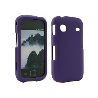 Purple Hard Snap On Cover Case for Samsung Repp SCH R680 Cell Phones & Accessories