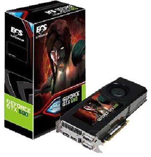 ECS GeForce GTX 680 2048MB GDDR5 PCI Express 3.0 DVI/HDMI/Display Port Graphics Card PGTX680AX 2GR5 WF Computers & Accessories