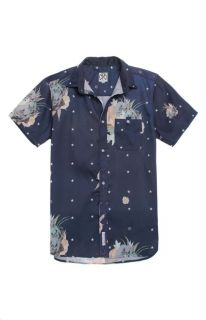 Mens Civil Shirts   Civil Floral Star Claude Woven Shirt