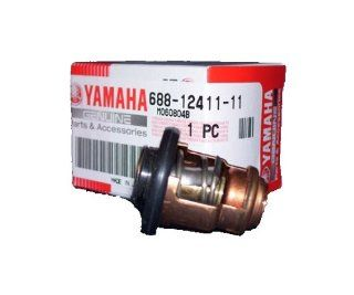 Yamaha 688 12411 11 00 Thermostat; Outboard Waverunner Sterndrive Marine Boat Parts  Sports Outdoor  Sports & Outdoors