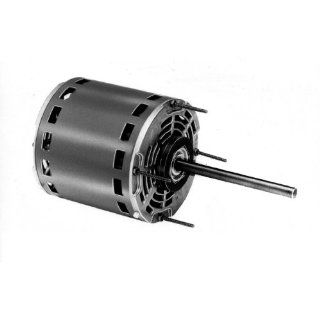 "Fasco D701 5.6"" Frame Open Ventilated Permanent Split Capacitor Direct Drive Blower Motor with Sleeve Bearing, 1/2 1/3 1/4 1/5HP, 1075rpm, 115V, 60Hz, 7.7 5.5 4.2 3.3 amps Electronic Component Motors"