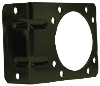 Pollak 12 711U Right Angle Mounting Bracket for 7 Way Trailer Connector Automotive