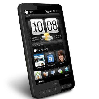 HTC HD2 T8585 Unlocked Phone with Touch Screen, 5MP Camera, GPS, Wi Fi and Windows Mobile 6.5 Professional   International Version   Black Cell Phones & Accessories