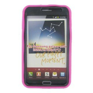 Samsung I717 (Galaxy Note) Hot Pink Robotic Case Cell Phones & Accessories