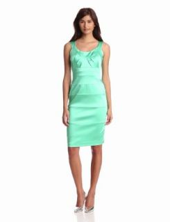 Jax Women's Stretch Satin Dress