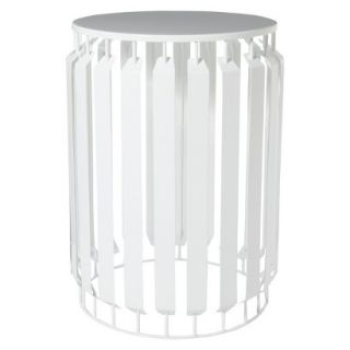 Accent Table Nate Berkus Metal Accent Table   White