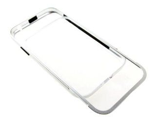 New Aluminum Metal Frame Bumper Case Cover For Samsung N7100 Galaxy Note 2 Silver Cell Phones & Accessories