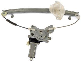 Dorman 741 100 Front Driver Side Replacement Power Window Regulator with Motor for Hyundai Sonata/Kia Optima Automotive