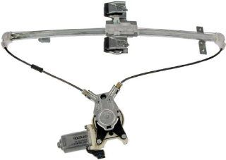 Dorman 741 073 Dodge/Mitsubishi Rear Driver Side Window Regulator with Motor Automotive