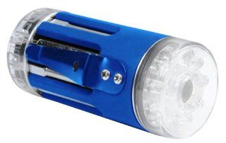 9 in 1 Multitool With LED Flashlight Blue By Totes