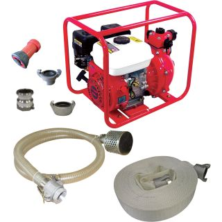 Endurance Marine Fire Fighting System — 1 1/2in. Ports, 3600 GPH, 100 PSI, 168cc Endurance Engine, Model# EFP1.5H  Engine Driven High Pressure Pumps