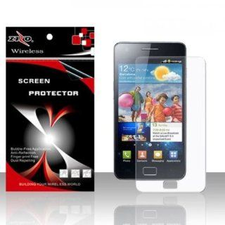 Anti Glare Clear Screen Protector for Samsung Galaxy S2 S II AT&T i777 SGH i777 Attain i9100 Cell Phones & Accessories