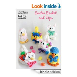 Crochet Pattern Easter Baskets & Toys PA803 R   Kindle edition by Maggie Weldon. Crafts, Hobbies & Home Kindle eBooks @ .
