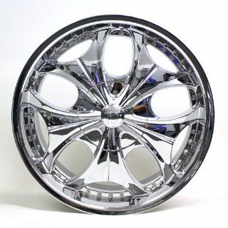 22 Inch Eco 810 Chrome Wheel Automotive