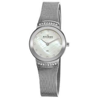 Skagen Women's 812SSS Steel Stainless Steel Mesh Watch at  Women's Watch store.