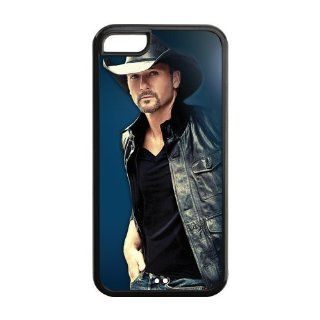 Pop Music Tim Mcgraw Design Cheap Custom Case for iPhone 5c 5c AX924030 Cell Phones & Accessories