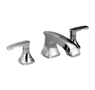 American Standard 7005.801.002 Copeland Two Lever Handle Widespread Lavatory Faucet, Speed Connect Pop Up Drain, Polished Chrome   Touch On Bathroom Sink Faucets