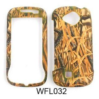 Samsung Reality u820 Camo Camouflage Hunter Series, w/ New Shedder Grass Hard Case/Cover/Faceplate/Snap On/Housing/Protector Cell Phones & Accessories