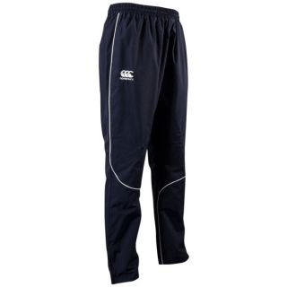 Canterbury Mens Pro Track Pants   Navy/White      Clothing