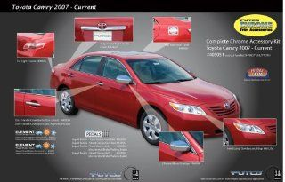 TOYOTA CAMRY 2007 2008 2009 Exterior Chrome Trim Kit by Putco Automotive
