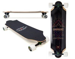 "2013 Landyachtz Top Speed 34"" Complete with Grizzly 852 Trucks, Bear Bearings & 70mm Mini Monsters  Long Surfboards  Sports & Outdoors"