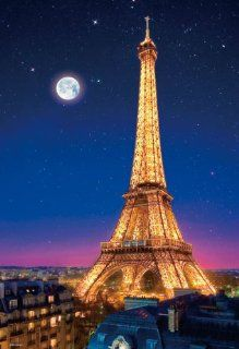 Beverly Jigsaw Puzzle M71 854 Paris Night View Eiffel Tower (1000 Pieces) Micro piece Toys & Games