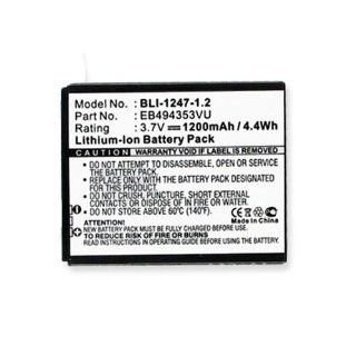 Samsung SGH I857 (Doubletime) Cell Phone Battery (Li Ion 3.7V 1200mAh) Rechargable Battery   Replacement For Samsung SGH T499 Cellphone Battery Cell Phones & Accessories