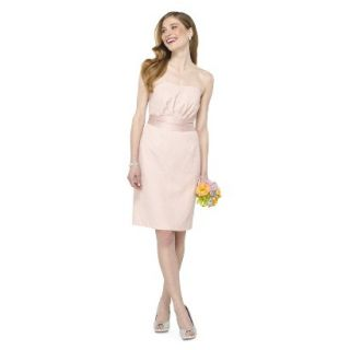 TEVOLIO Womens Lace Strapless Dress   Peach   12