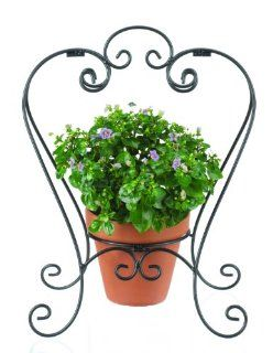 Ganz Garden Decor, Plant Stand, Iron, 13 Inch Wide by 875 Inch Diameter by 17 Inch High  Patio, Lawn & Garden