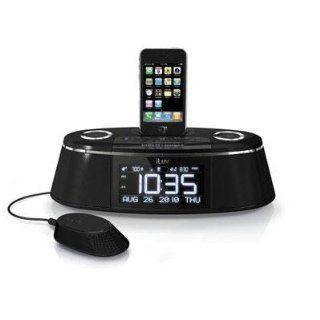 Iluv Imm178 Iphone/Ipod Dual Alarm Clock With Bed Shaker & Speaker (Personal Audio / Docking Stations) Computers & Accessories