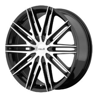Helo HE880 18 Black Wheel / Rim 5x115 & 5x120 with a 42mm Offset and a 74.1 Hub Bore. Partnumber HE88088020342 Automotive