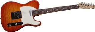 Fender Custom Shop 2012 Custom Deluxe Telecaster   Cherry Sunburst Musical Instruments