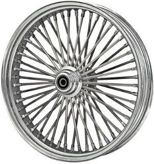 DNA Mammoth Spoke   18in. x 3.5in.   Rear Wheel , Position Rear, Rim Size 18, Color Chrome MS18363242 Automotive
