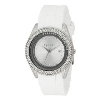 Rip Curl Women's A2313G DLX Prague White Silicon Watch Watches