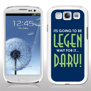 Samsung Galaxy S3 Case   How I Met Your Mother   Legen Dary   White Phone Case Cell Phones & Accessories