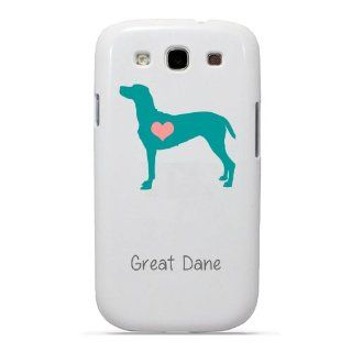 SudysAccessories Great Dane Dog Samsung Galaxy S3 Case S III Case i9300   SoftShell Full Plastic Snap On Graphic Case Cell Phones & Accessories