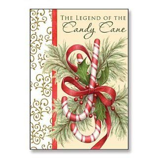"Abbey Press ""Legend of the Candy Cane"" Christmas Cards   Greetings Paper Gift Wrap 15144T ABBEY   Candy Cane Decor"