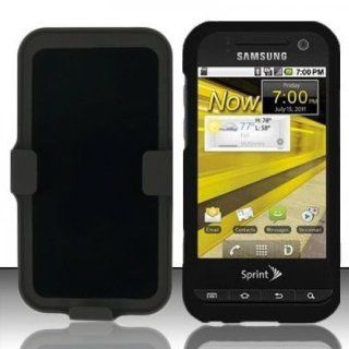 Black Heavy Duty Holster Cover Case for Samsung Galaxy Attain 4G SCH R920 Cell Phones & Accessories