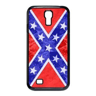 Confederate Rebel Flag Slim and Stylish Protective SamSung Galaxy S4 I9500 Case, Perfect fit Snap On Hard Cover Cell Phones & Accessories